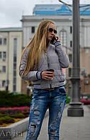 Женская куртка бомбер осень Arvisa- розница, опт, дропшиппинг