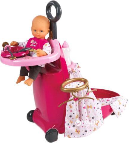 Набор для ухода за куклой - Раскладной Чемодан Baby Nurse Smoby (220316)