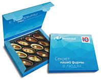 Шоколадные конфеты-лодочки. Праздничное ассорти