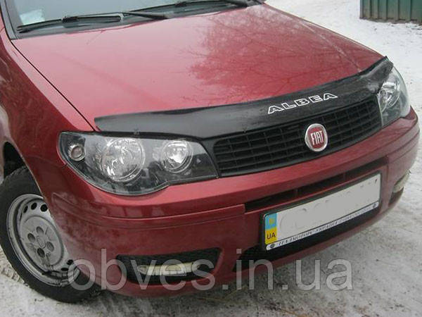 Дефлектор капота (мухобойка) Fiat ALBEA c 2007 г.в.