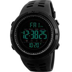 Мужские часы Skmei 1267 Черные, КОД: 115675