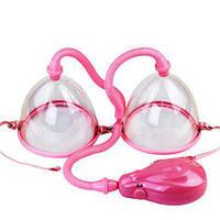Двойная вакуумная помпа для увеличения груди Breast Pump