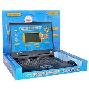 Детский обучающий ноутбук на 3 языках