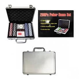 Набор для покера, чемодан 100 фишек