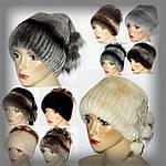 Женские меховые шапки из кролика Rex-Rebbit