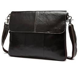Мужская сумка через плечо Bexhill BX8007C Темно-коричневая, КОД: 186777