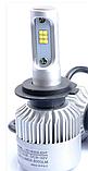 Автомобильные светодиодные (LED) лампы SIGMA S200 (H7) 5000K Яркие 8000Lm комплект 2 штуки, фото 2