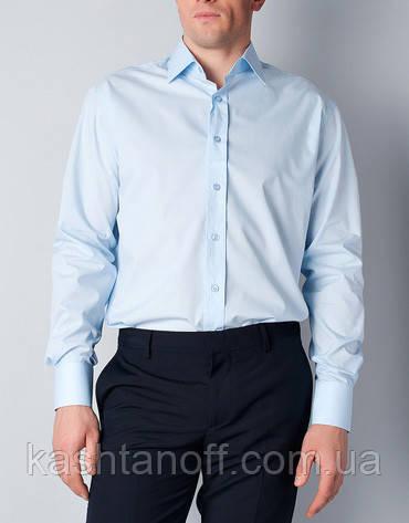 Чоловіча сорочка світло-блакитного кольору