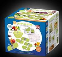 Овощерезка+насадки+контейнер, фото 1