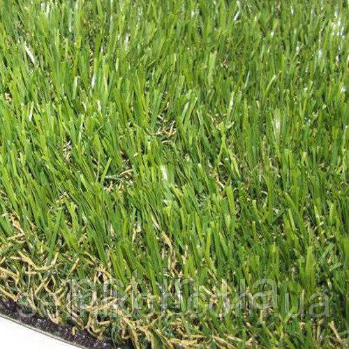 Декоративная искусственная трава для газона Soft 35 мм