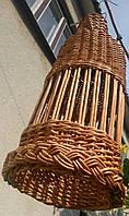 Плетеная бра из  лозы, фото 1