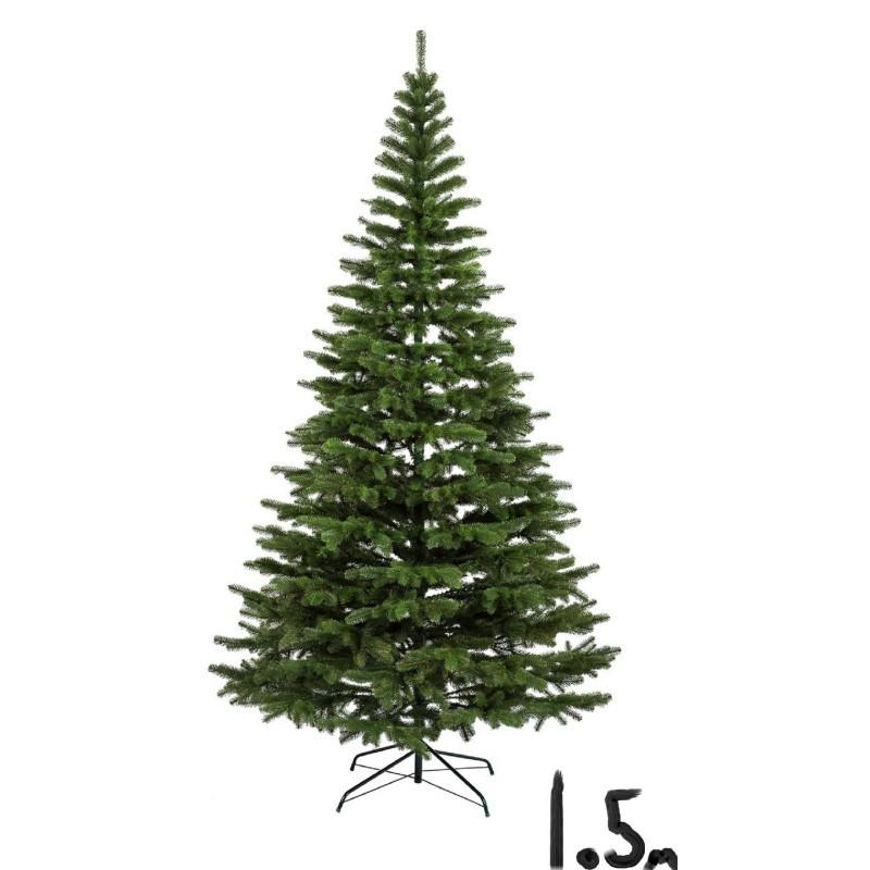 """Искусственная елка """"Литая Ковалевская"""" 1,5м зелёная"""
