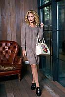 """Платье """"Кэти"""" (коричневый)(размер 44,46.48)"""