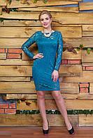 """Платье """"А2"""" (бирюза)(размер 44,46,48)"""