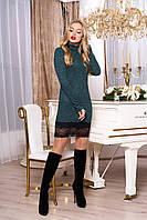 """Платье """"А-67"""" (зеленый)(размеры 42-54)"""