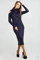 Теплое миди-платье из ангоры Мирабелла, фото 1