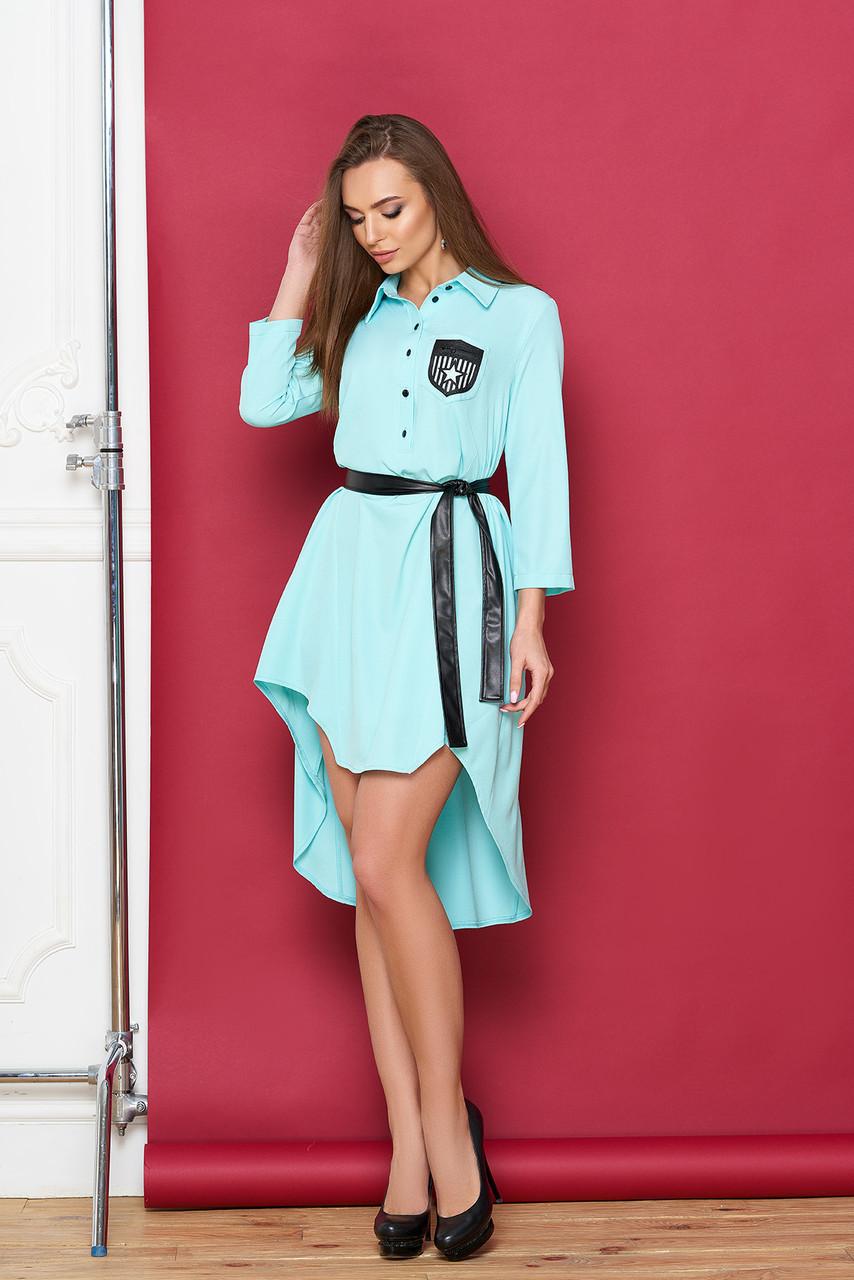 """Платье """"Скрин"""" (минт)(размер M,XL)"""