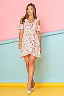 """Платье """"Шейла"""" (персик)(размер XL), фото 1"""