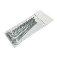 Кілки металеві peg steel (запаковані по 10 шт в комплекті)
