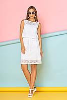 """Платье """"А-90"""" (белый)(размеры 44-54), фото 1"""