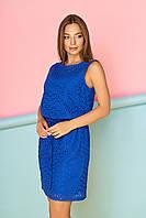 """Платье """"А-90"""" (голубой)(размеры 44-54)"""