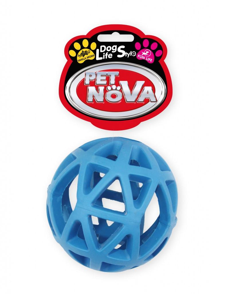Игрушка для собак Мяч сетчатый Pet Nova 9 см