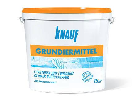 KNAUF Грунт ГРУНДІРМІТЕЛЬ ( грундельмитель), 5 кг УКРАІНА (33 шт/п), фото 2