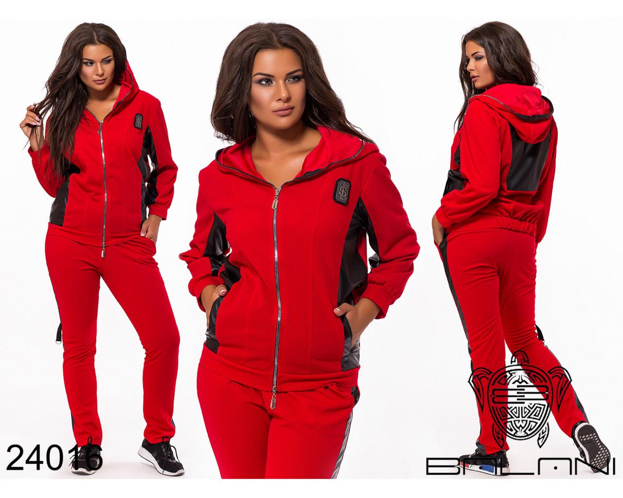 Женский костюм спортивного фасона размер: 48,50,52,54