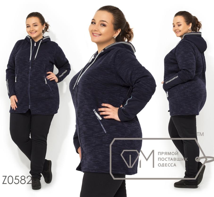 Теплый спортивный костюм на флисе трехнитка производитель Одесса Balani  большой размер 56-62 68f91e1aafa