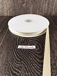 Репсовая лента с люрексом, 50 ярдов, 2,5 см