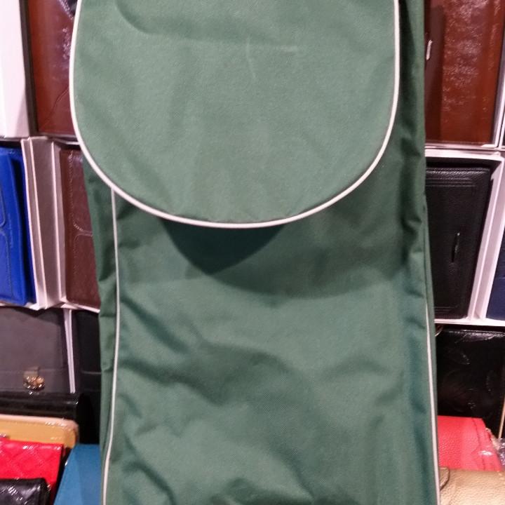 Чехол для тележки зелёный