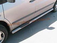 Пороги труба боковые подножки нержавейка на Mercedes Vito 1996-2003