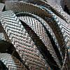Декоративная лента (джутовая), 12 мм, S-узор., фото 3