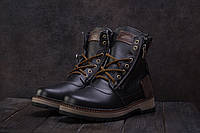 Ботинки Zangak 136 (зима, мужские, кожа)