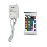 Контроллер RGB 6А-IR-24 кнопки 12V 72W