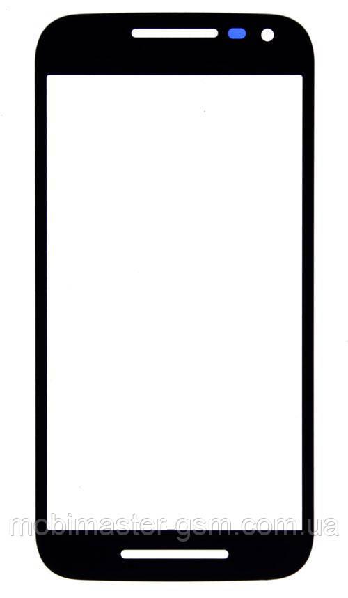 Стекло Motorola XT1550 Moto G (3rd Gen.) черное