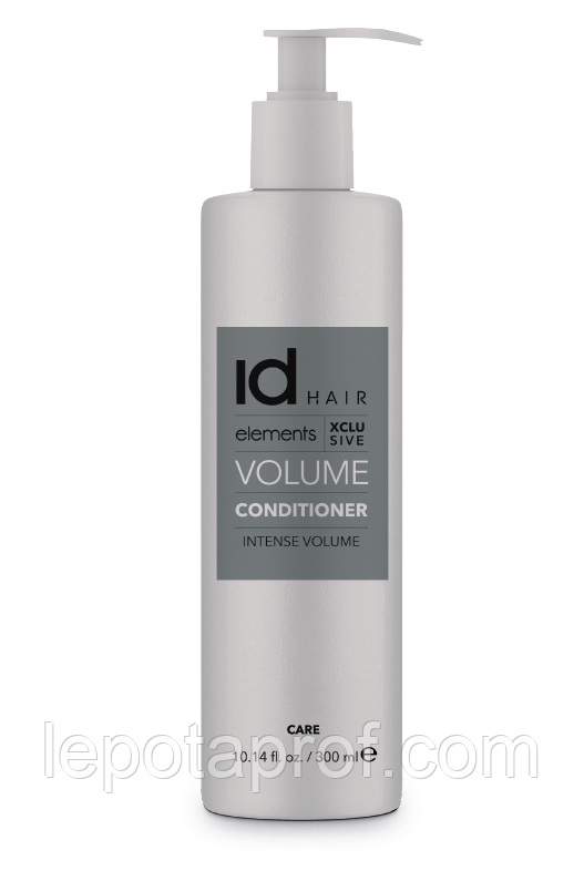 Кондиционер для придания объема id Hair  Elements Xclusive VOLUME Conditioner, 300 ml