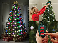 Электрическая LED гирлянда на Новый год Tree Dazzler, новогодняя гирлянда 16 лампочек
