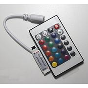 Контроллер RGB 6А IR mini 12V 72W 24 кнопки