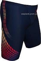 Стартовые спортивные плавки гидрошорты PH 20024-02 черный/красный