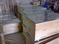 Улей лежак на 22 рамки крыша оцинкованная