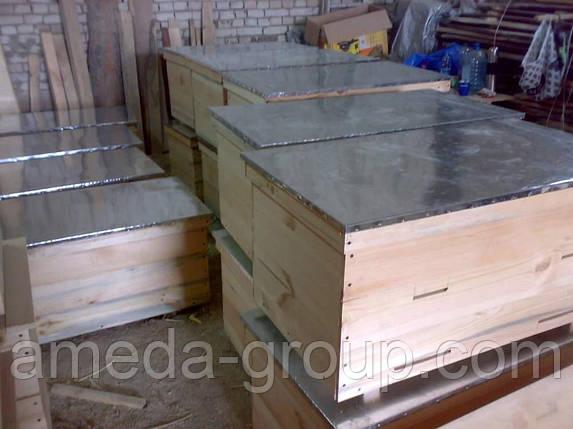 Улей лежак на 22 рамки крыша оцинкованная, фото 2