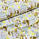 Ткань польская хлопковая, маленькие единороги с желтыми звездами на белом, фото 4