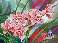 Схема для вышивки бисером Музыка орхидей РКП-222