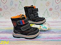 Детские зимние сноубутсы ботинки, 22-27