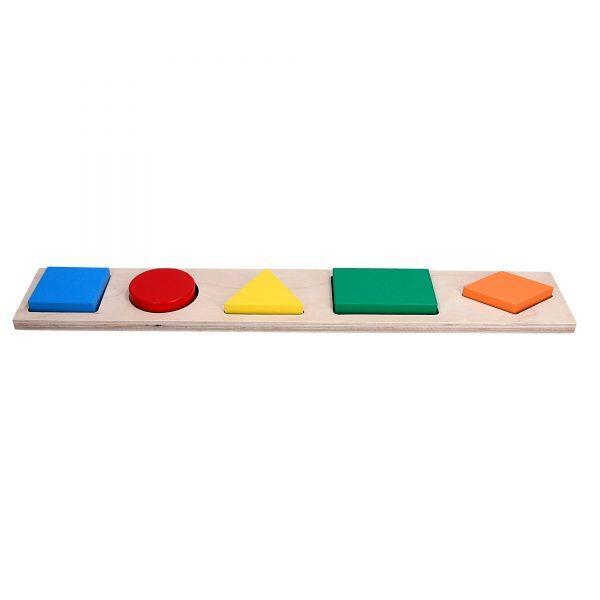 Рамка вкладиш Геометричні фігури 5.
