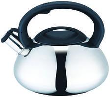 Чайник со свистком 3л Con Brio СВ-405 - глянцевый