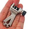 Выжимка цепи DN-23240 со спицным ключем, компактная, фото 4