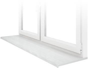 Подоконник Данке Белое дерево Lalbero Bianco глубиной 100 мм