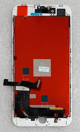 Модуль (сенсор + дисплей LCD) для Apple Iphone 8 Plus білий, фото 2